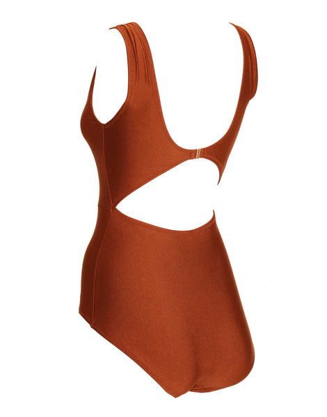 Bronze Sacrum V Swimsuit Long