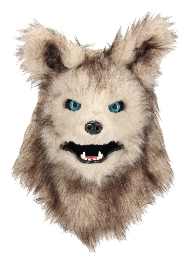 Jungle Book Akela Mask with Moving Mouth - Wolf Costume