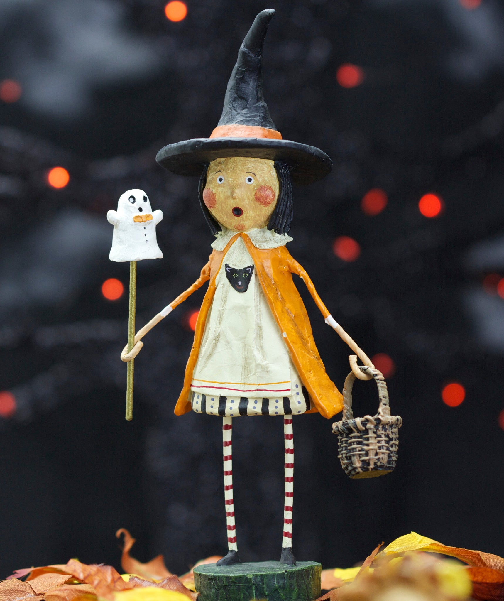 Enchanted Eliza Witch - Lori Mitchell Halloween Figurine