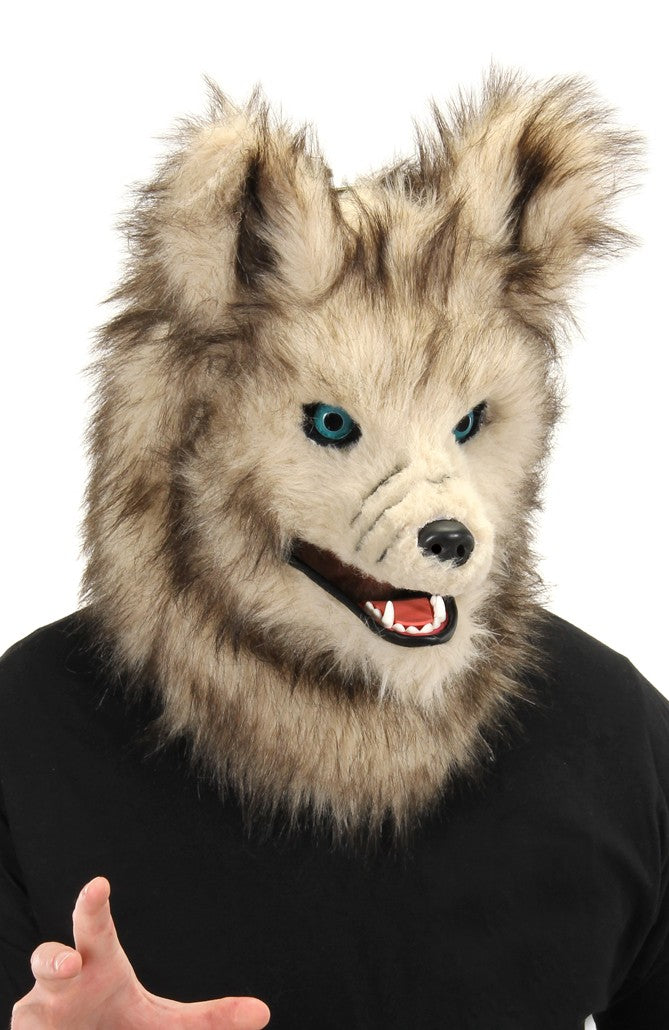 Akela Wolf Mask with Moving Mask from the Jungle Book