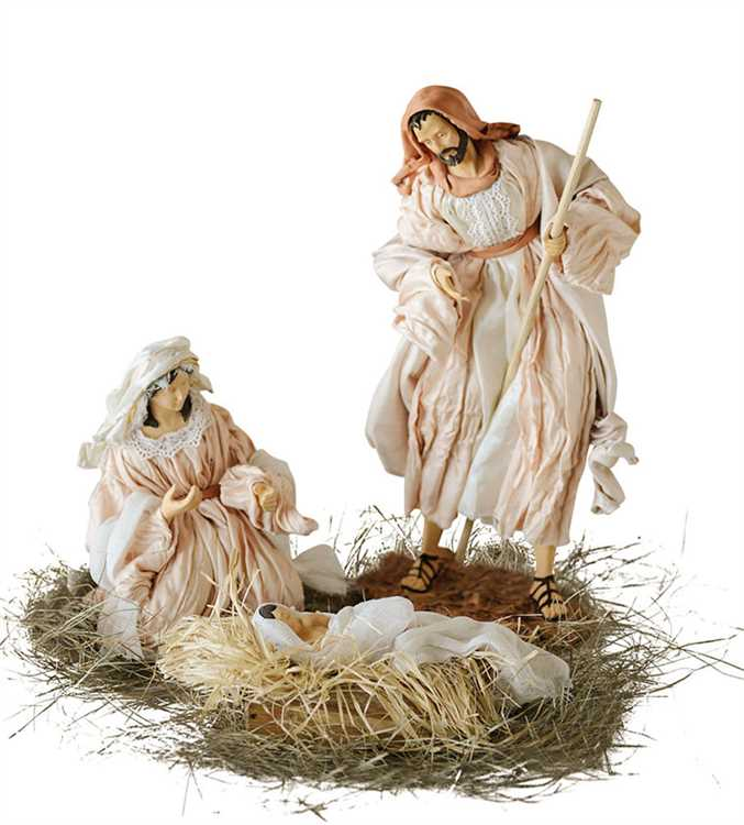 Old World Silk Nativity