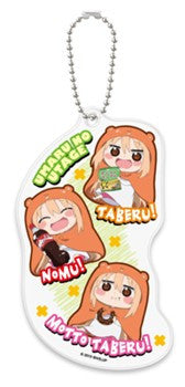 "New ""Himouto! Umaru-chan"" Soft Clear Key chain ""Snack time!"""