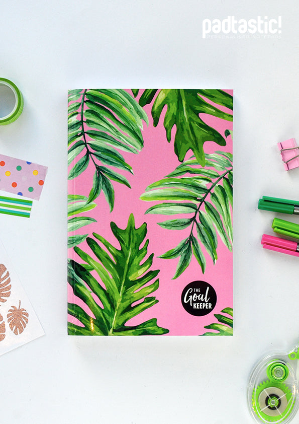 The Goal Keeper Kids' Planner - Pink Tropical