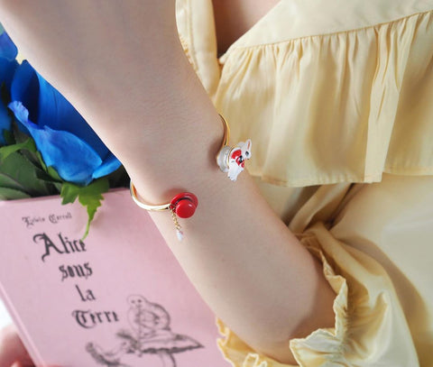 NB - MR D01 Magic Rabbit Face to Face Bracelet