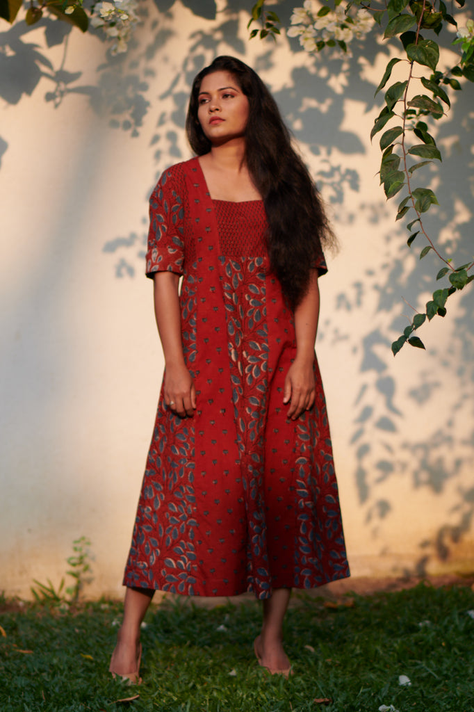 Madder Earthy Dress