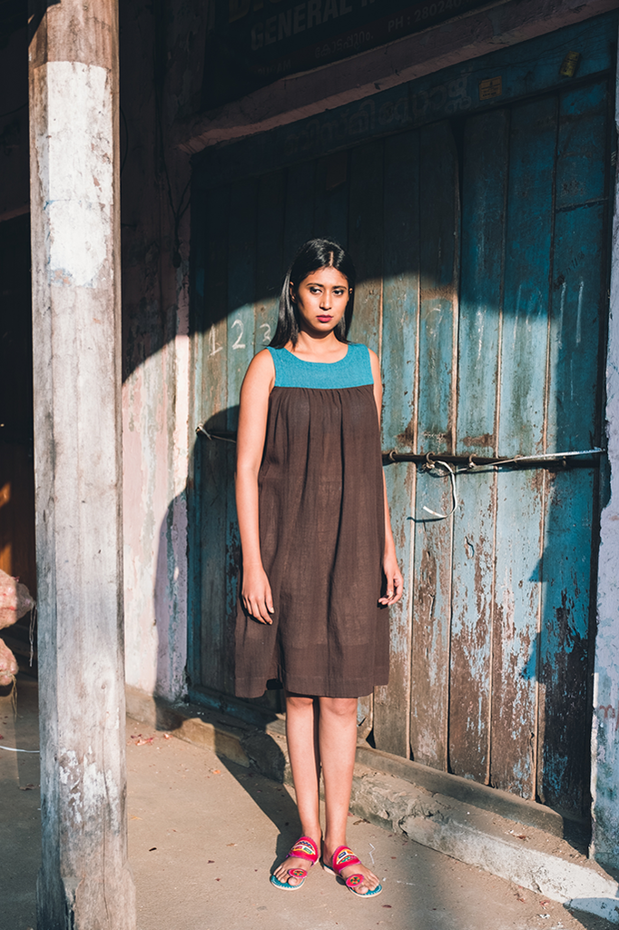 Scatterseed Crepe Dress