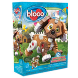 Kids Toy - Bloco Build A Friend Puppy - Animal Toy - Brown
