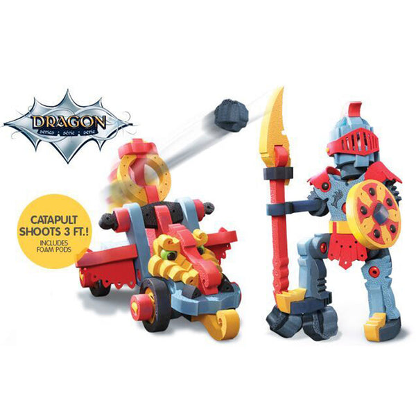 Bloco Dragon Knight and Catapult