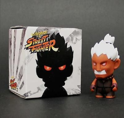 "Kidrobot x Bait SDCC 2013 Street Fighter Shin Akuma 3"" figure Comic Con Sealed - redrum comics"