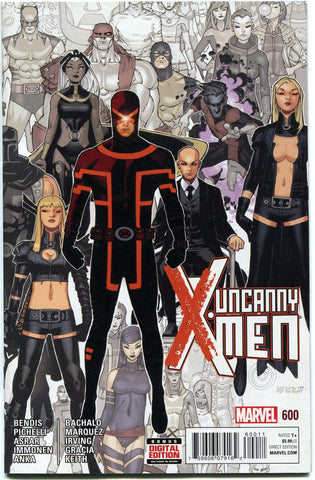 Uncanny X-Men #600 VF/NM 2015 1st Print Marvel Comics Bendis Bachalo - redrum comics
