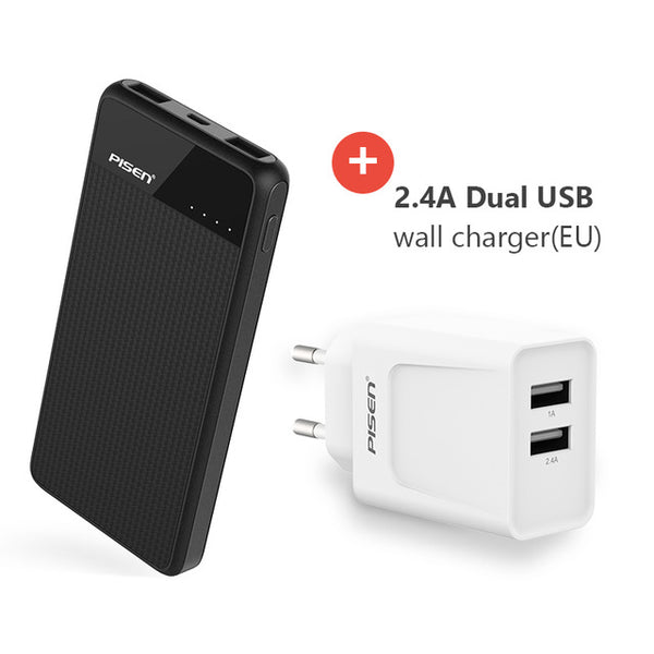 Ultra Thin Powerbank Dual Outputs Smart