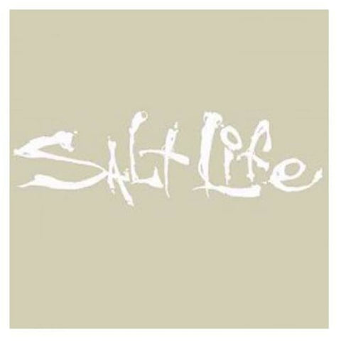 Saltlife Medium Sticker White - Misc