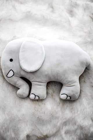 Ivory Ella Accessories Elephant Pillow