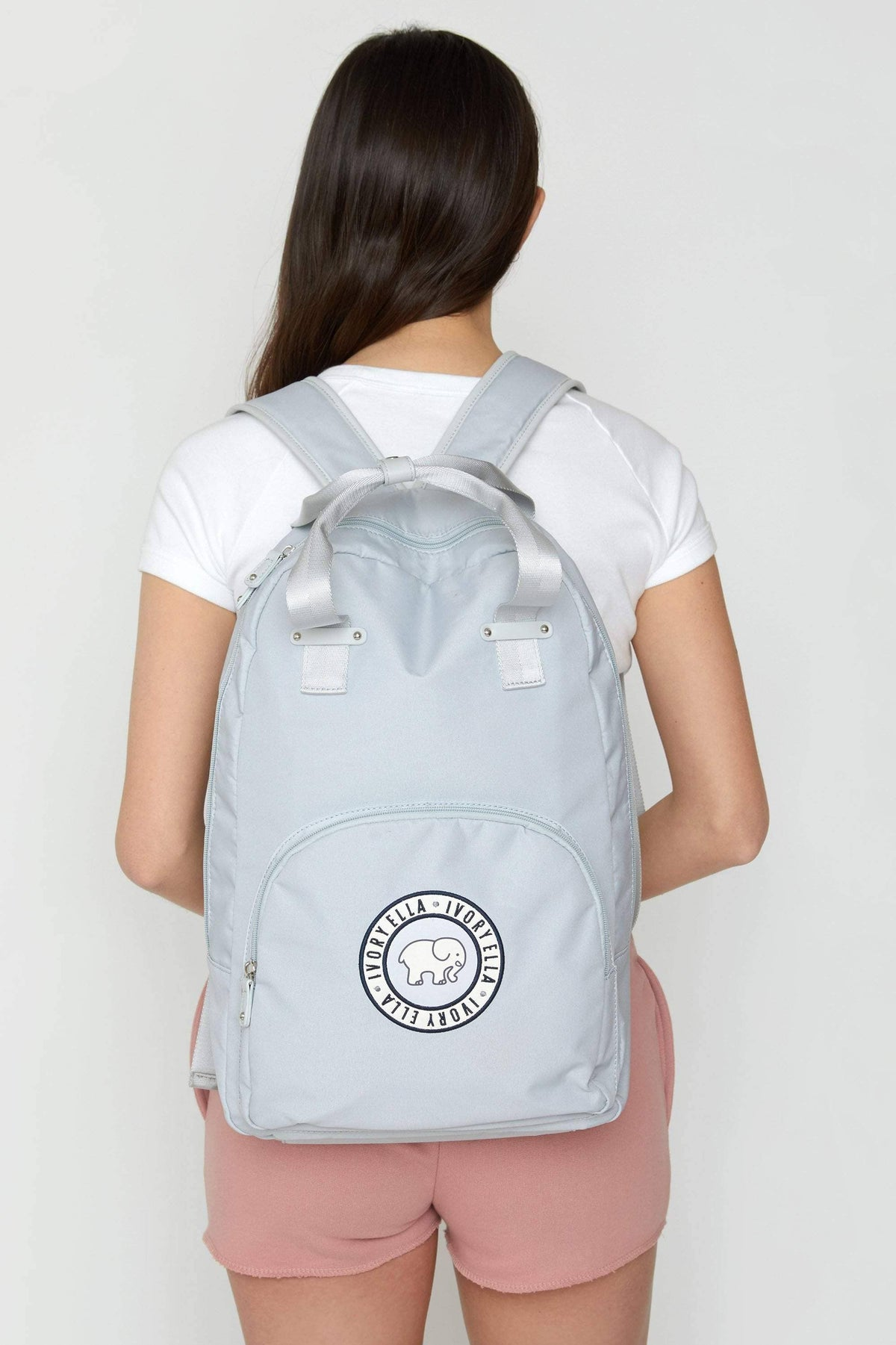 Ivory Ella Accessories Light Blue Backpack