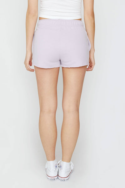 Amethyst Organic French Terry Shorts