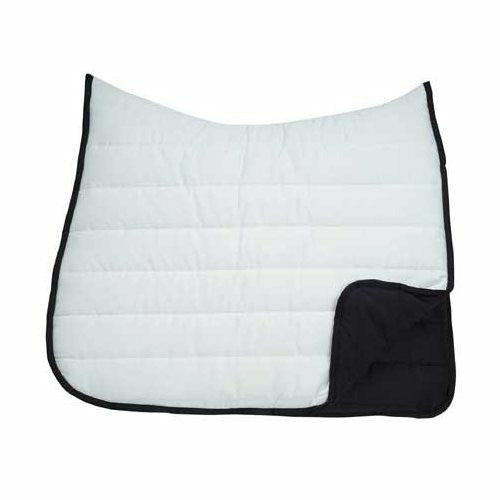 Roma Reversible Softie Wither Relief Dressage Saddle Pad - CarouselHorseTack.com