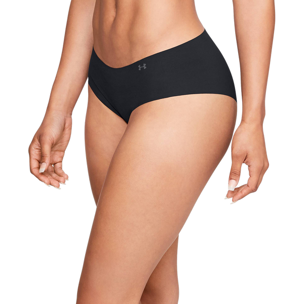 Under Armour Women's Pure Stretch Hipster Black