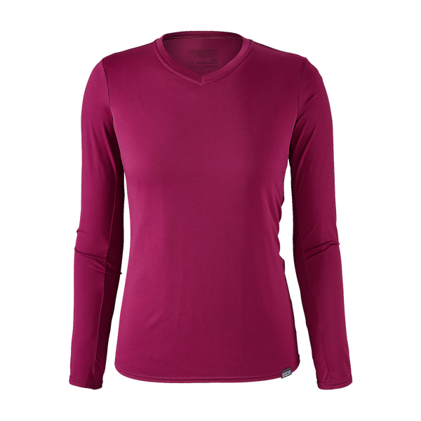 Patagonia Women's Capilene Daily Long Sleeve T-Shirt Magenta