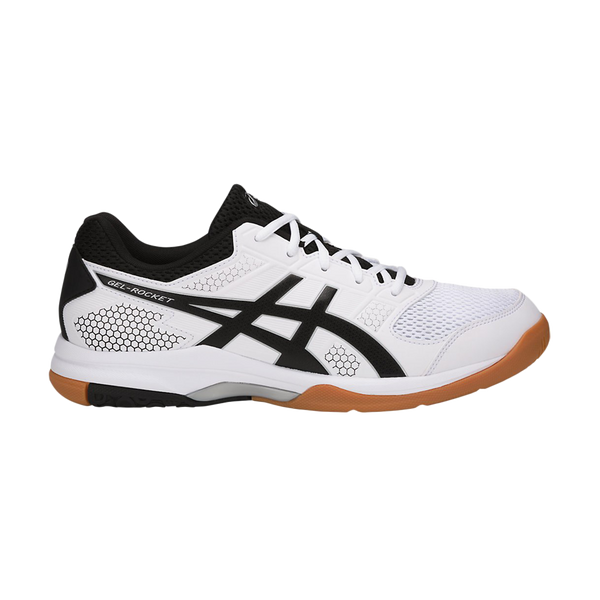Asics Men's Gel-Rocket 8 White/Black