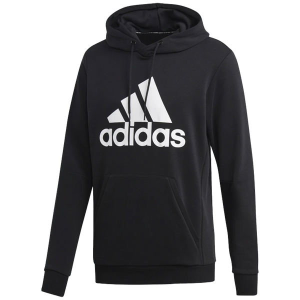 Adidas Men's Must Haves Badge of Sport Pullover Hoodie French Terry Black