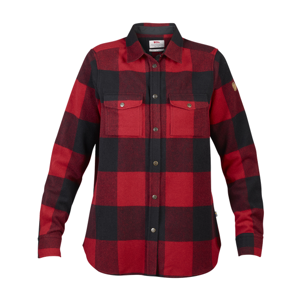 Fjallraven Women's Canada Shirt Red