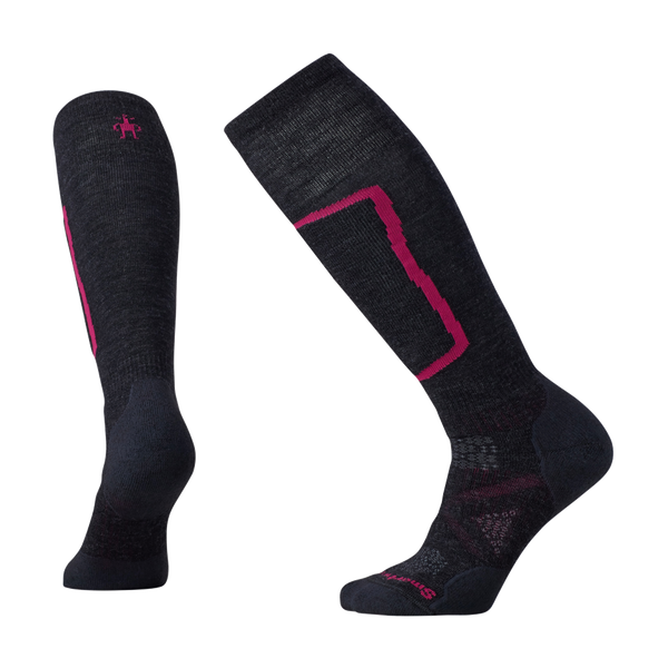 Smartwool Women's PHD Ski Medium Charcoal