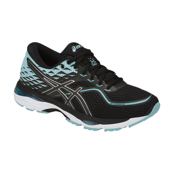 Asics Women's Gel-Cumulus 19 Black/Porcelain Blue