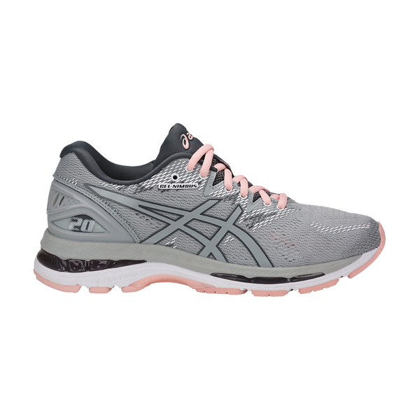 Asics Women's Gel-Nimbus 20 Mid Grey
