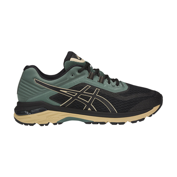 Asics Men's GT-2000 6 Trail Black/DarkForest