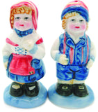 Vintage Salt and Pepper Shakers Scandinavian Standing Couple