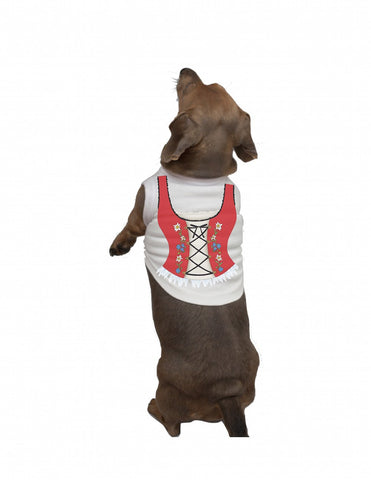 German Dog Tee Shirt: Dirndl - GermanGiftOutlet.com
