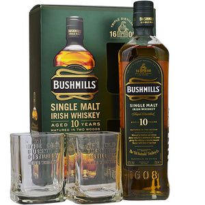 Bushmills 10y Gift Box 2 Glasses
