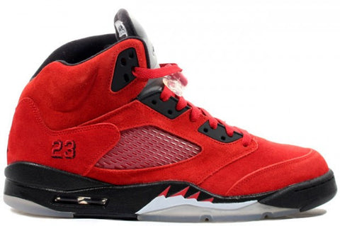 AIR JORDAN 5 (BLACK / RED - RAGING BULL TORO BRAVO)