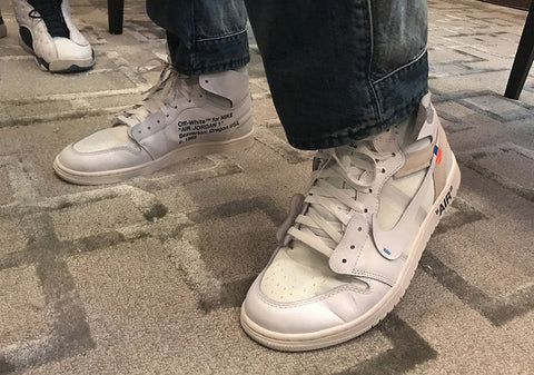 AIR JORDAN 1 (SOFT-WHITE / OFF-WHITE)