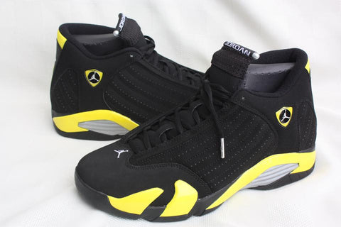 AIR JORDAN 14 (BLACK / YELLOW THUNDER)