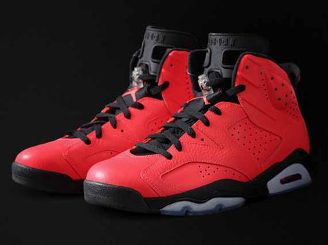 AIR JORDAN 6 (WHITE / INFRARED)