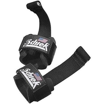 NEW Schiek Sports 1000 DLS Dowel Series Lifting Straps with Dowels Weightlifting