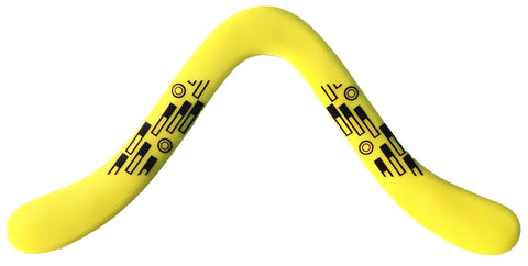 Tech Boomerang - Yellow RH - boomerangs-com