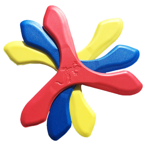 Iguana Boomerangs - Soft Foam Boomerangs for Kids! - boomerangs-com