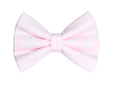Pink Stripe Bow