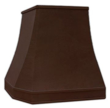 exhaust copper range hood