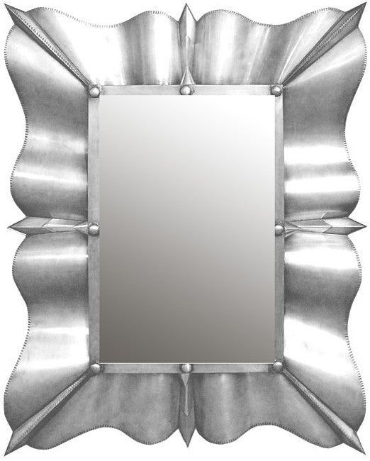 traditional tin mirror