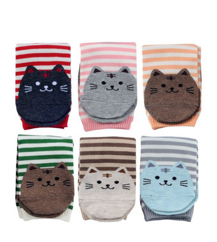 Kitten Toe Warmers (6 pairs included)