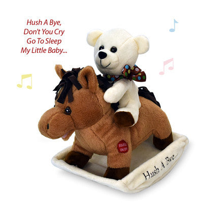 "12"" Rocking Horse Hush-a-Bye Lullaby"