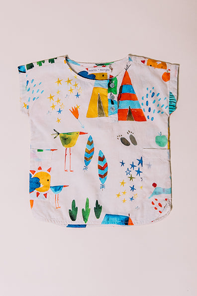 summer camp roy tunic