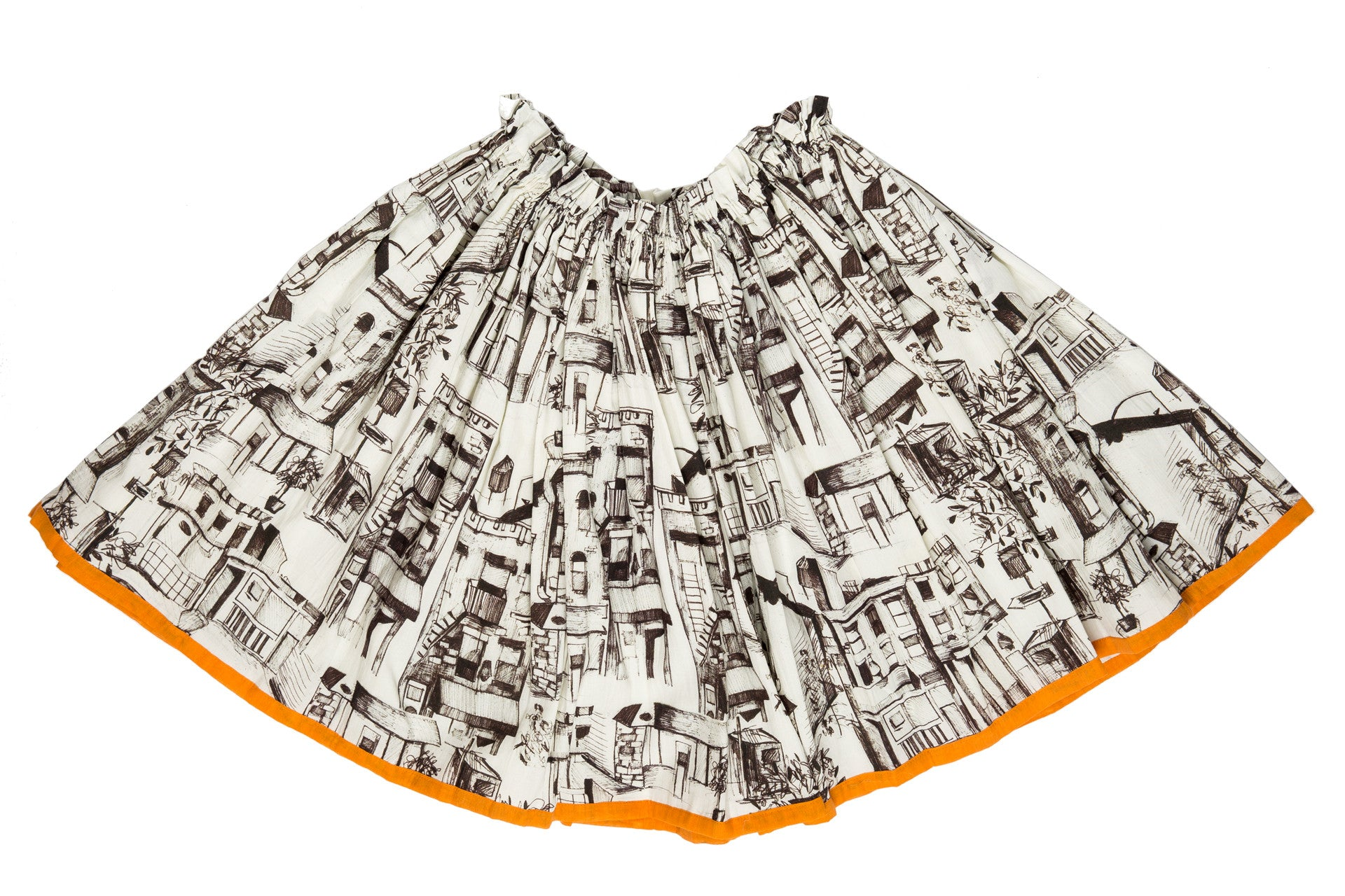 full circle midi skirt-FINAL SALE