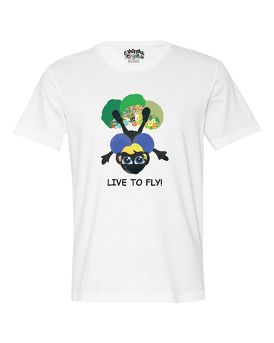 LIVE TO FLY - UNISEX-T