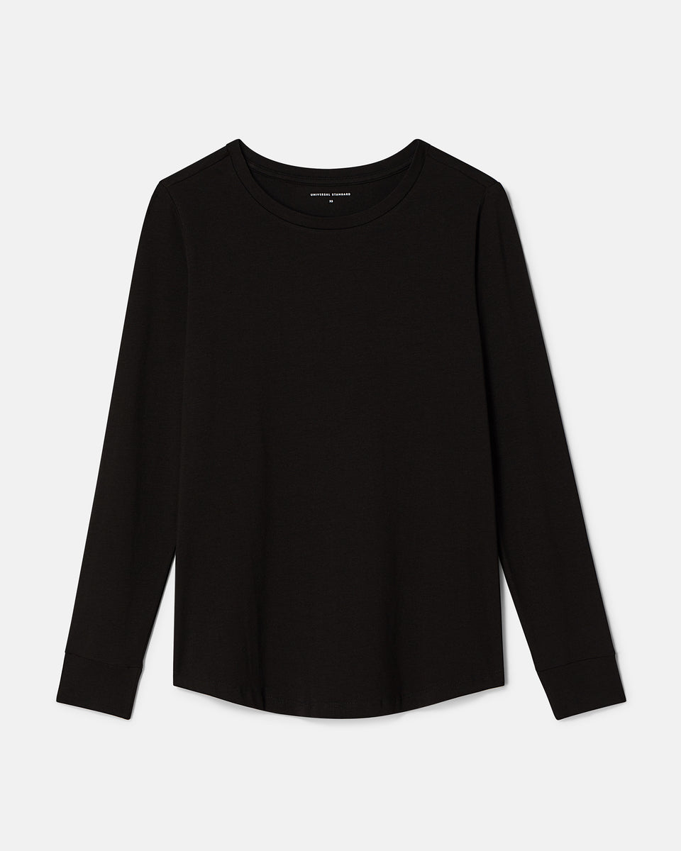 Long Sleeve Tee Rex  - Black
