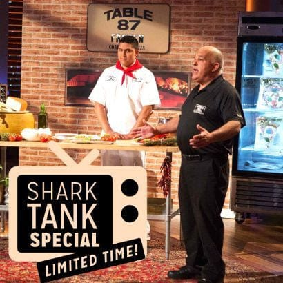 Shark Tank Special : NY Pizza Feast For 10