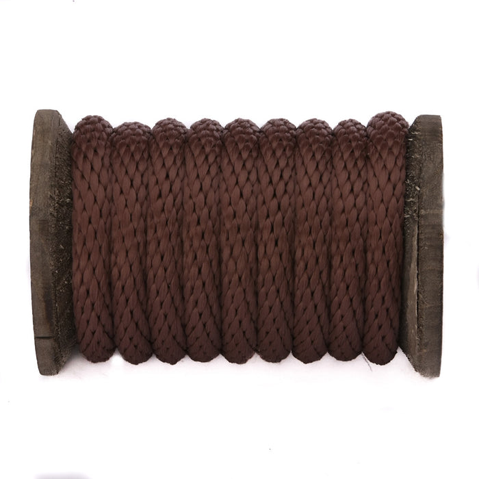 Solid Braid MFP Derby Utility Rope (Brown)